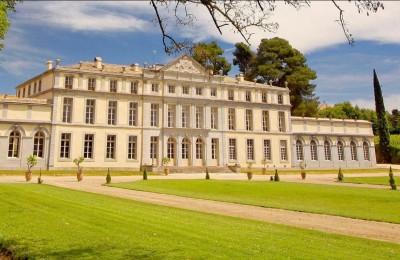 Château et les vignobles