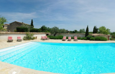 swimming pool in the south of france