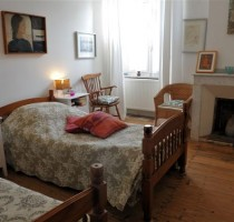 Guest Houses, spacious double bedroom