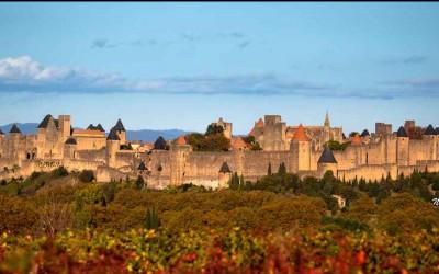 cité de carcassonne, medieval fortress south of france