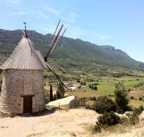 Cucugnan moulin à vent