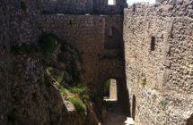 Peyrepertuse et Quéribus châteaux cathares
