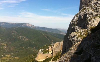 Cathars castles, Quéribus and Peyrepertuse