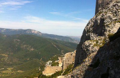 Châteaux cathares, Quéribus et Peyrepertuse